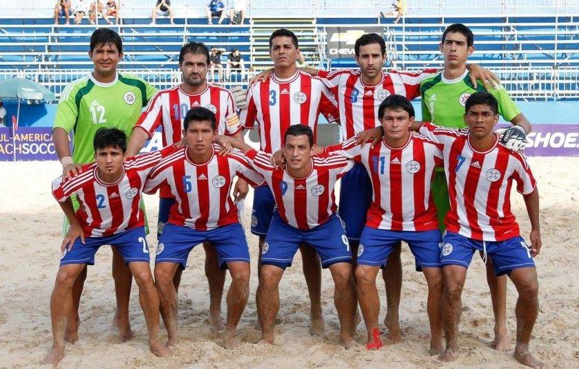 Paraguay es vicecampeón sudamericano en el fútbol de playa ... 60eb75404aa73