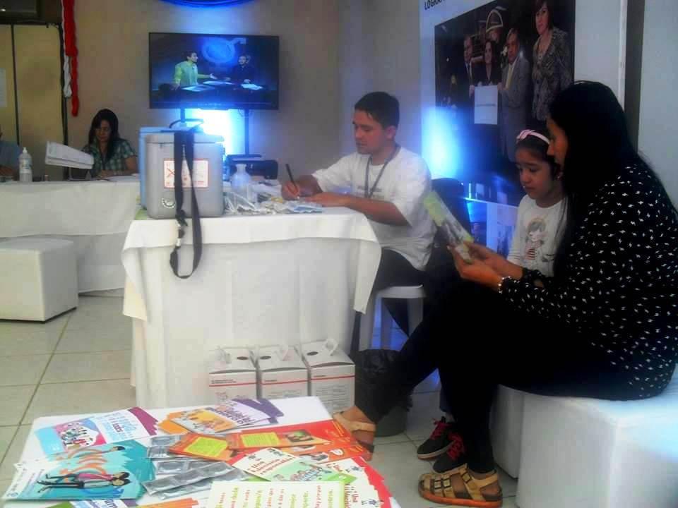 Expo 2015 Stand Enel : Reportan 390 atenciones en el stand del msp en la expo .::agencia