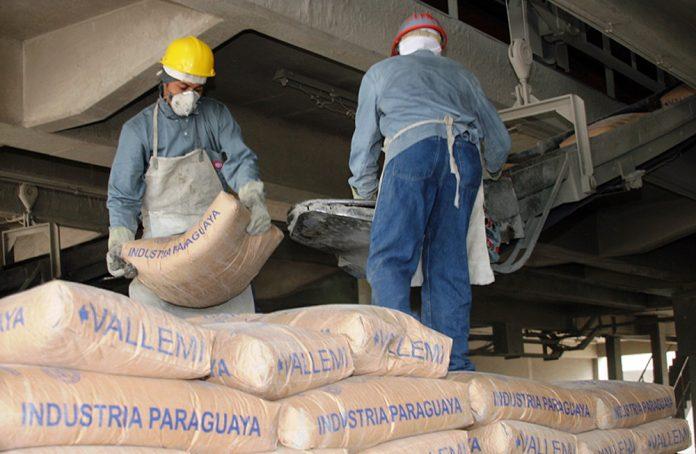 Río Paraguay, INC, cemento,