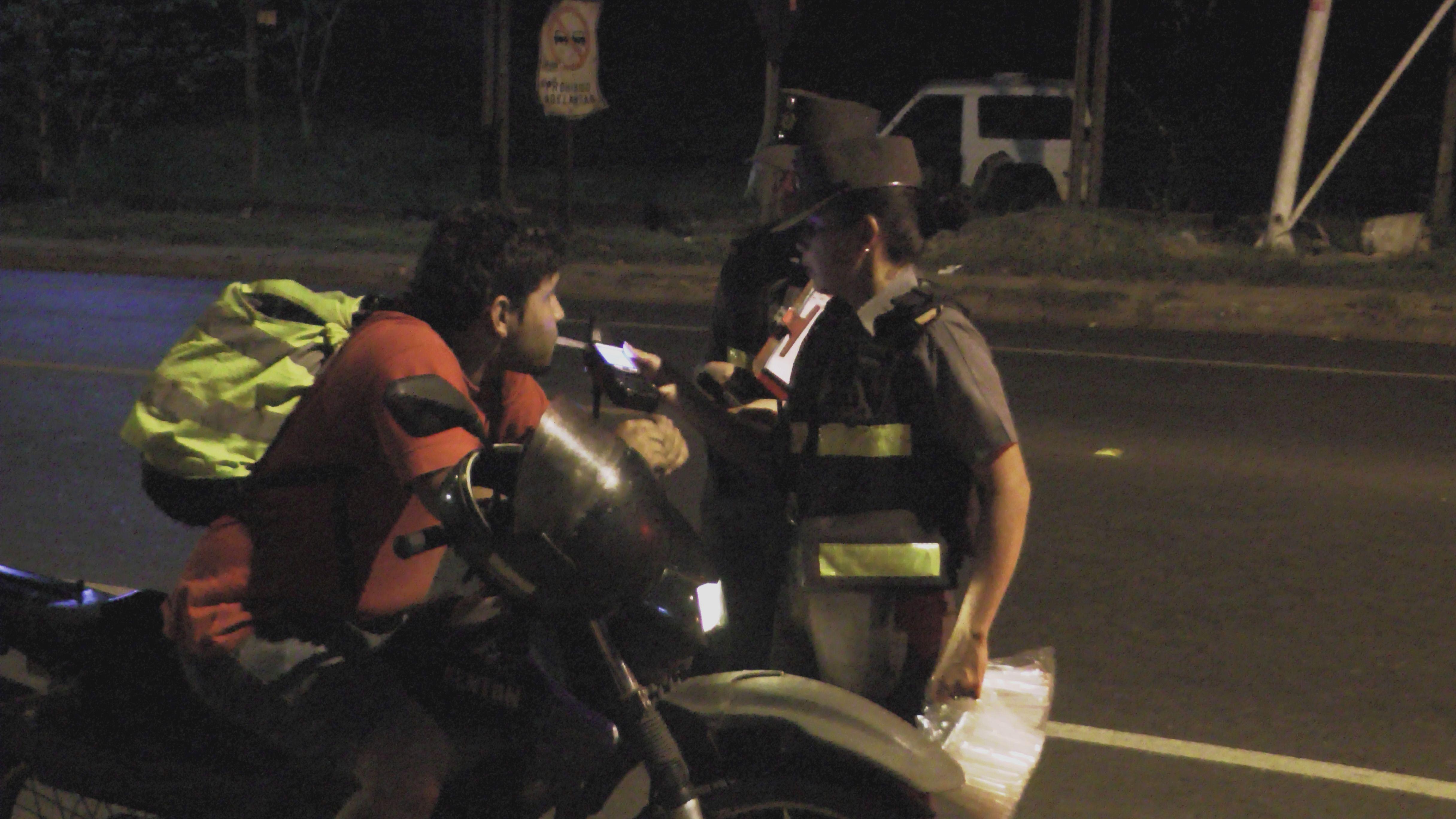 Caminera retuvo a 313 conductores borrachos