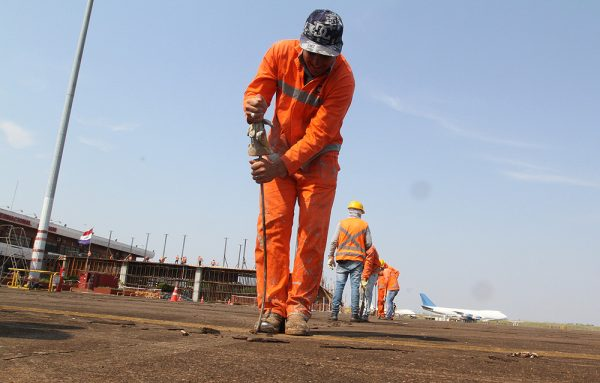 Aeropuerto Guarani - Obras