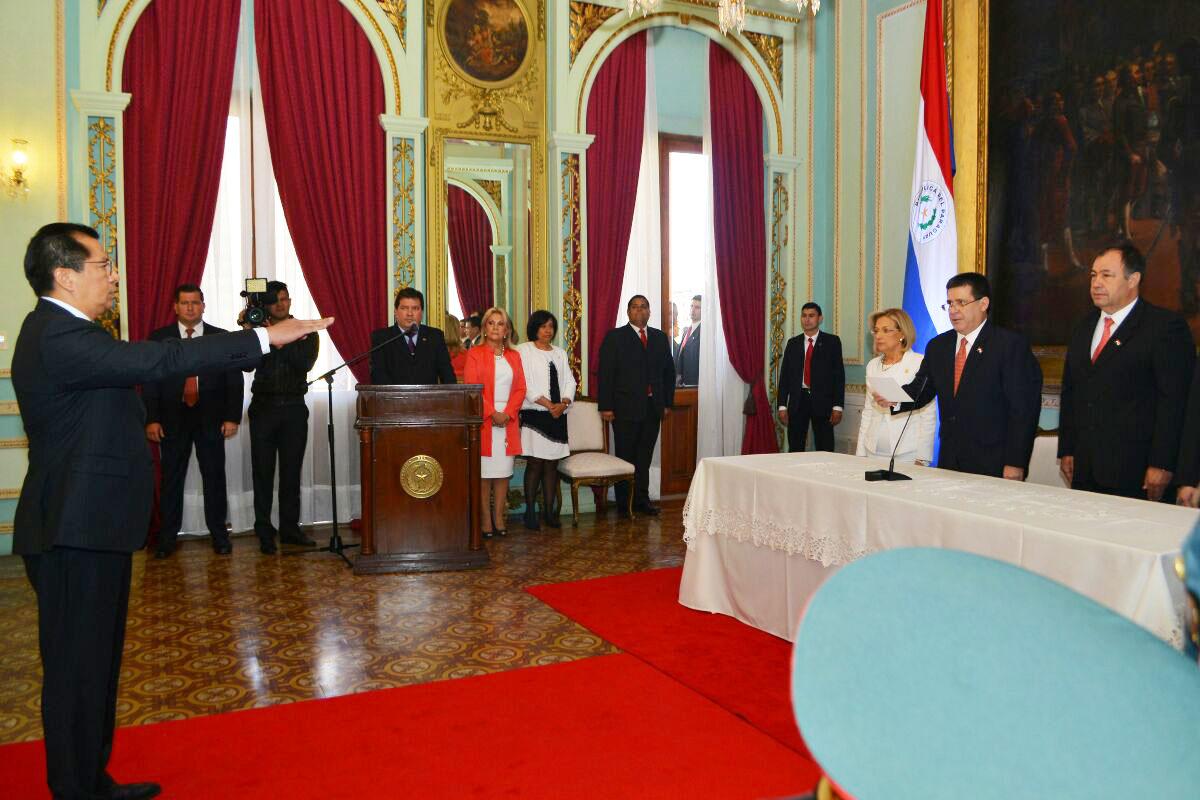 Tadeo rojas jur como nuevo ministro del interior for Escuchas del ministro del interior