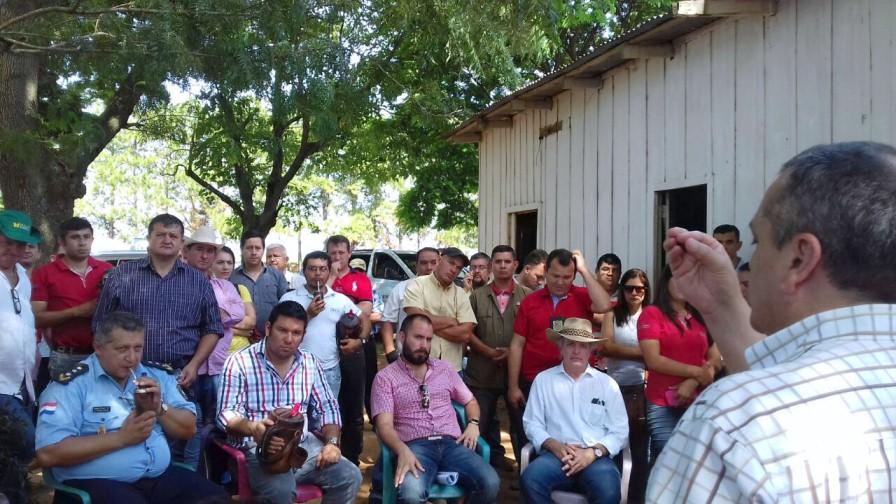 Piden devolución de tierras de Guahory