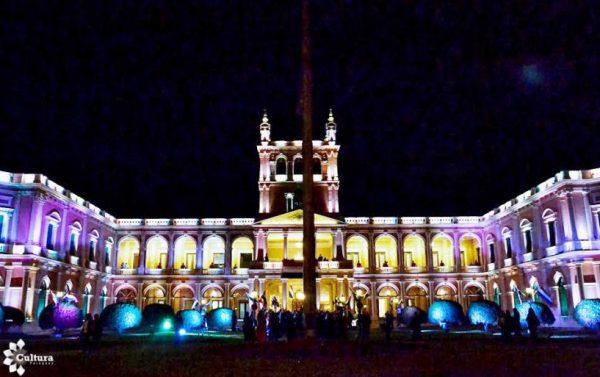 Uno de los edificios más emblemáticos de la capital paraguaya, ue construido en estilo neoclásico con cierta influencia palladiana Foto: Gentileza SNC