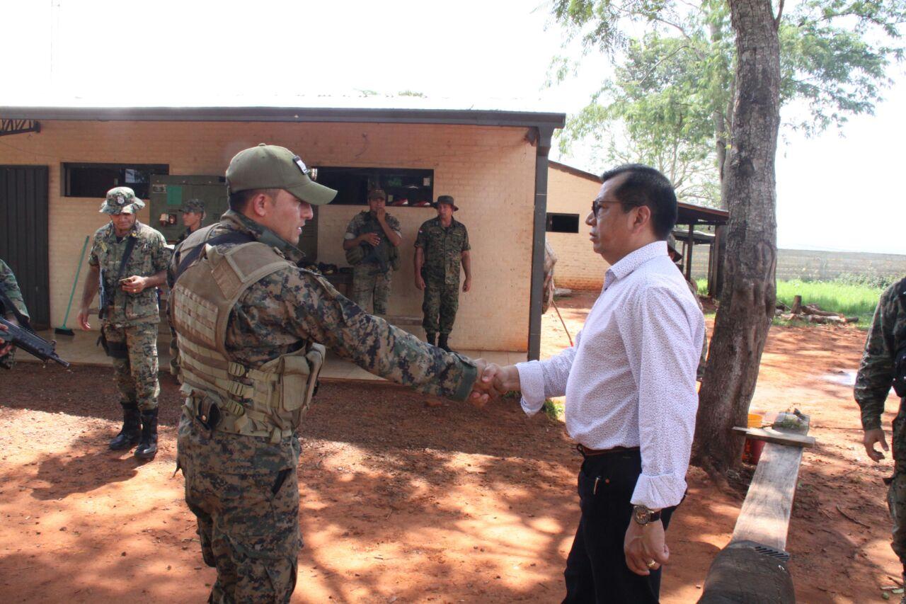 Ministro del interior realiza visita a grupo t ctico for Grupo el norte