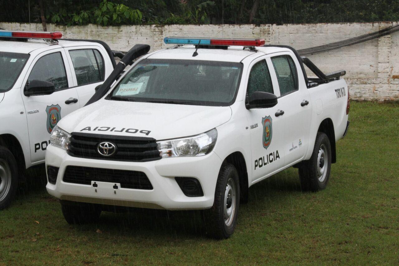 Ministerio del interior entrega patrulleras durante for Ministerio del interior comisarias