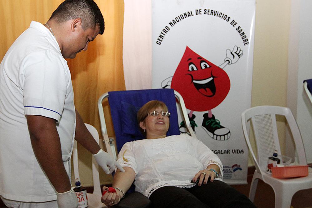 Funcionarios de la INC realizarán donación de sangre al Censsa