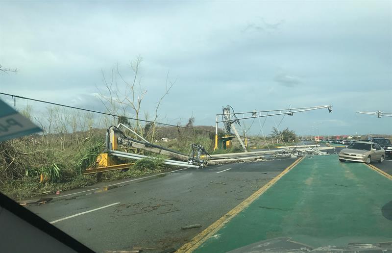 Todo Puerto Rico Sigue Sin Energ 237 A El 233 Ctrica Tras El Paso