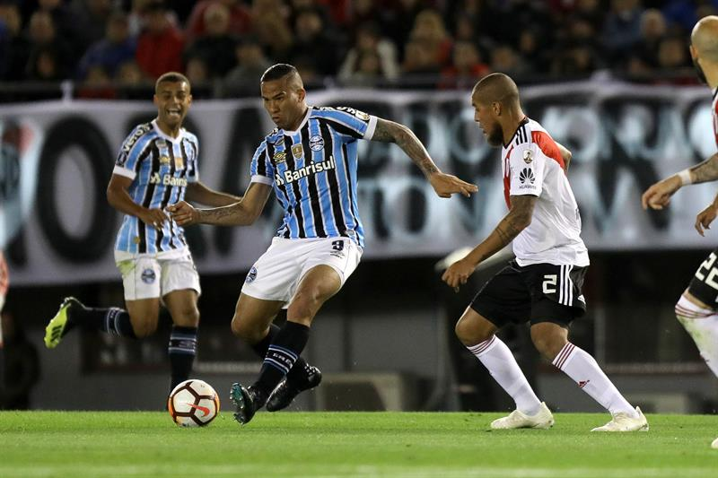Libertadores  Gremio consigue un valioso triunfo ante River ... 560892227e06b