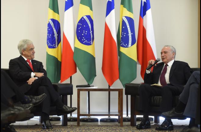 Chile y Brasil firman acuerdo de libre comercio-Espanol