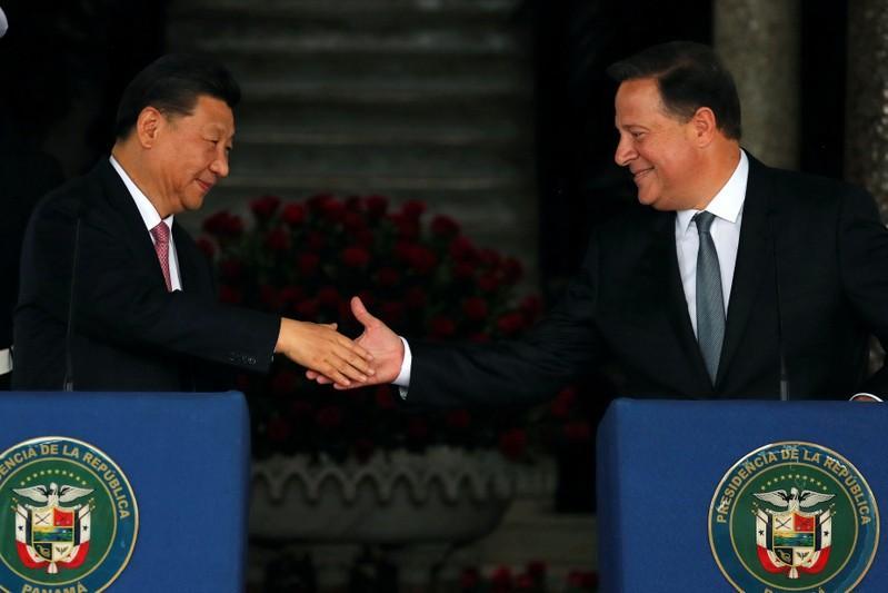 Xi llega a Panamá en una histórica visita oficial