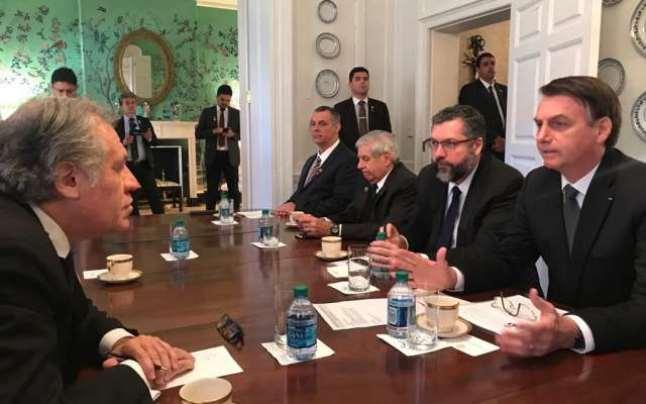 Régimen cubano lleva años interviniendo en asuntos internos de Venezuela #20Mar — Almagro