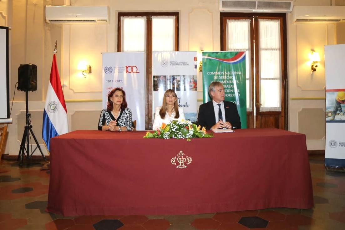 Paraguay y OIT cooperarán para formalización y promoción del empleo decente