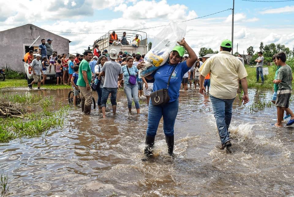 Gobierno ya asistió a 14.000 familias afectadas por las inundaciones, reporta SEN