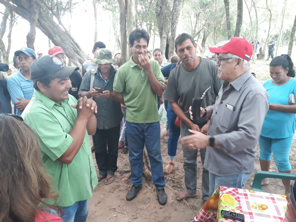 Indert busca regularizar tierras para unas 100 familias en Caazapá