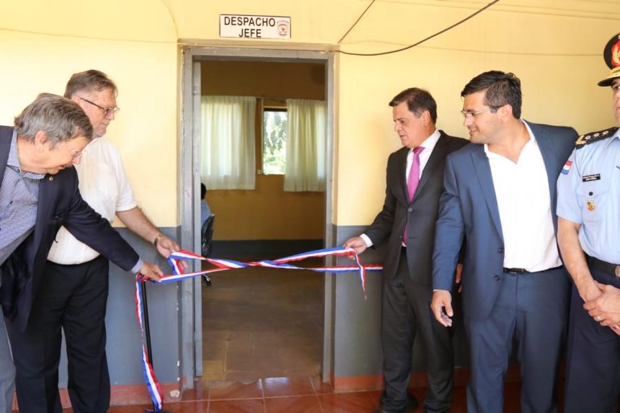 Sistema de videovigilancia del 911 se inaugura en Caaguazú