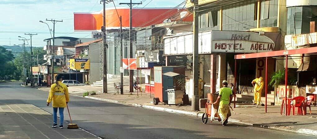 Municipalidad de Asunción realiza trabajos de limpieza y reacondicionamiento