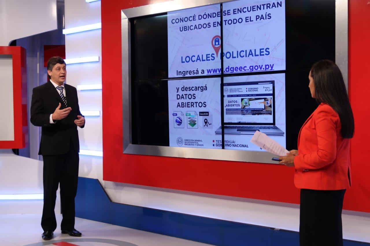 Dgeec apoya con sistema estadístico proyectos de Agenda Digital, ODS y turismo