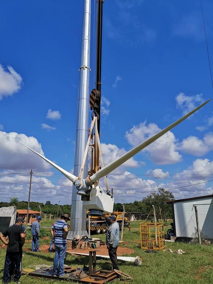 Investigadores de la FIUNA prueban aerogenerador con capacidad de abastecer a comunidades aisladas