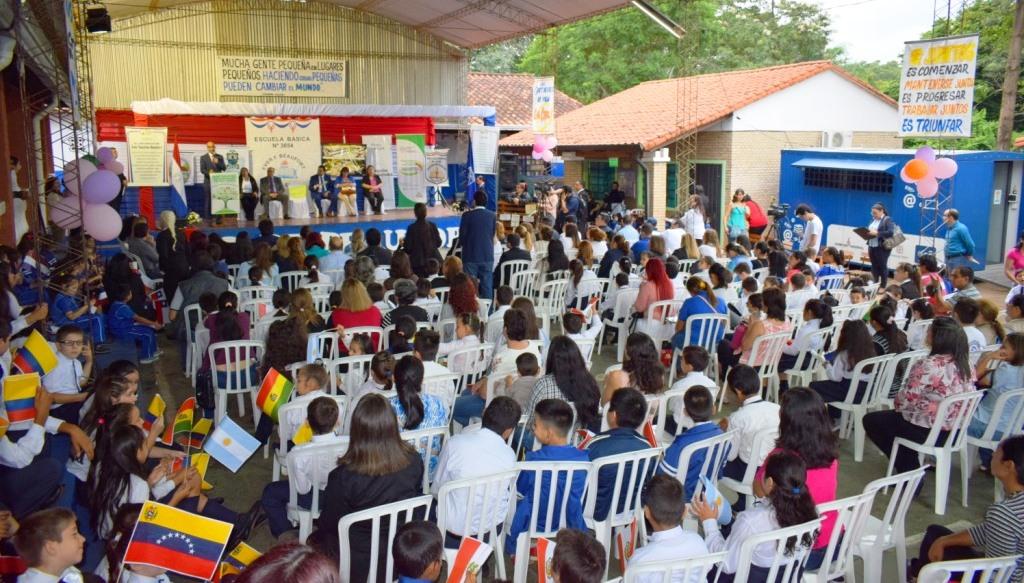 Populosa institución certifica como escuela saludable en Villa Elisa