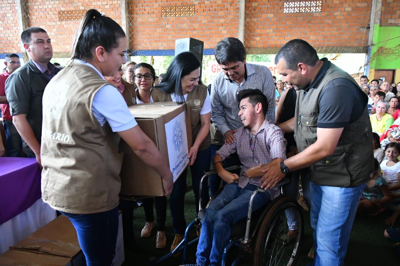 Donan 1.200 kits de alimentos para familias vulnerables de Ciudad del Este