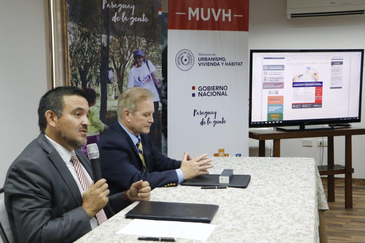 Docentes y administrativos del MEC podrán acceder a plan de mejora de viviendas