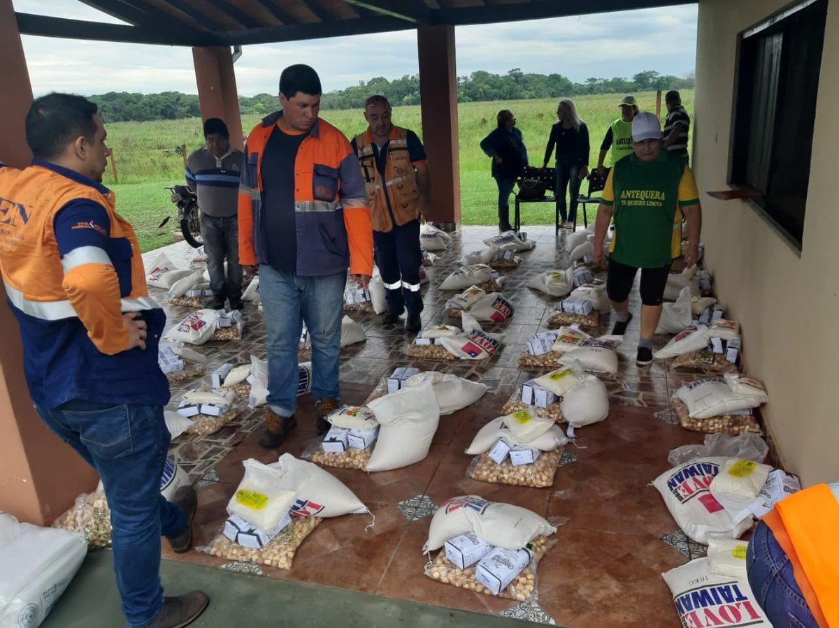 Puerto Antequera tiene paliadas necesidades urgentes pero requerirá asistencia extendida, dice intendente