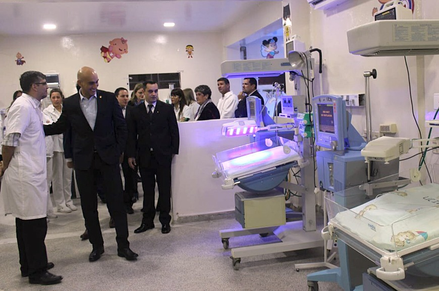 Salud Pública habilita nuevas camas de terapia intensiva en San Lorenzo |  .::Agencia IP::.