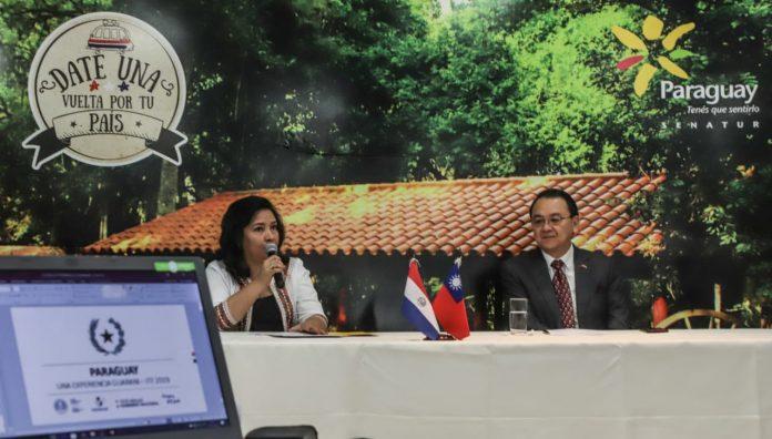 Gobierno de Taiwán presentó cooperaciones turísticas realizada en Paraguay