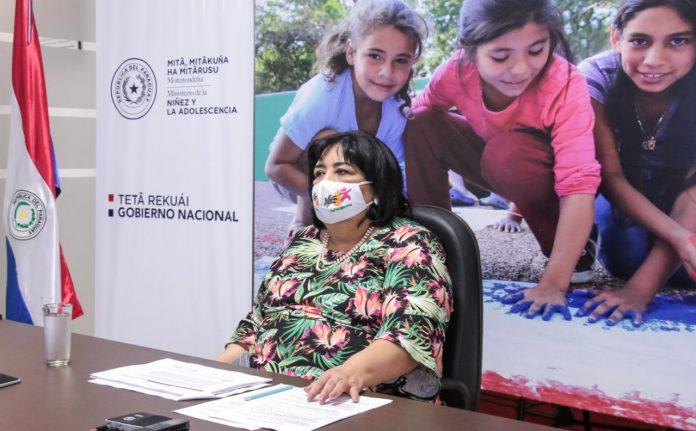 Plan Nacional, Minna, niños, niñas y adolescentes, Teresa Martínez,