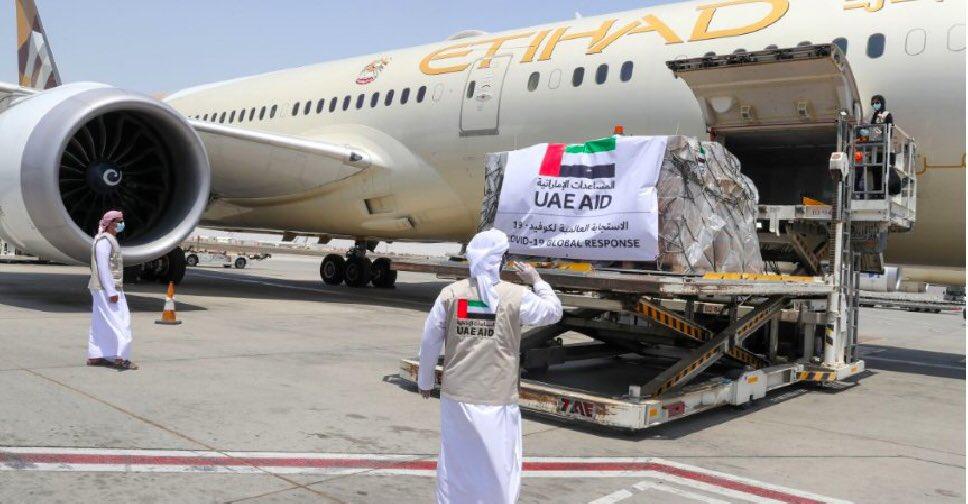 Emiratos Árabes dona insumos y equipos que llegarán el sábado al país |  .::Agencia IP::.