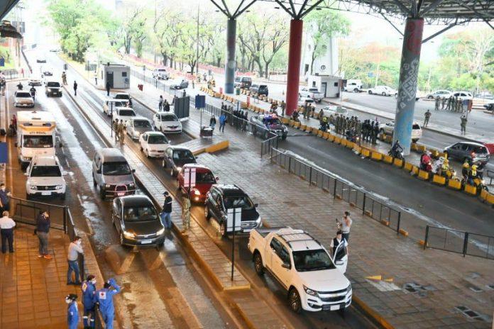 Acceso al Paraguay desde el Brasil
