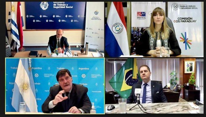 MTESS, Carla Bacigalupo, Mercosur, coronavirus,