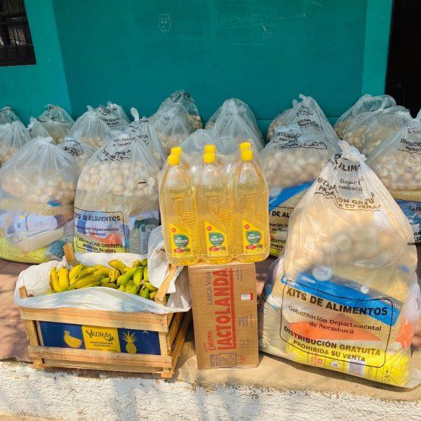kits de alimentos Ñeembucú
