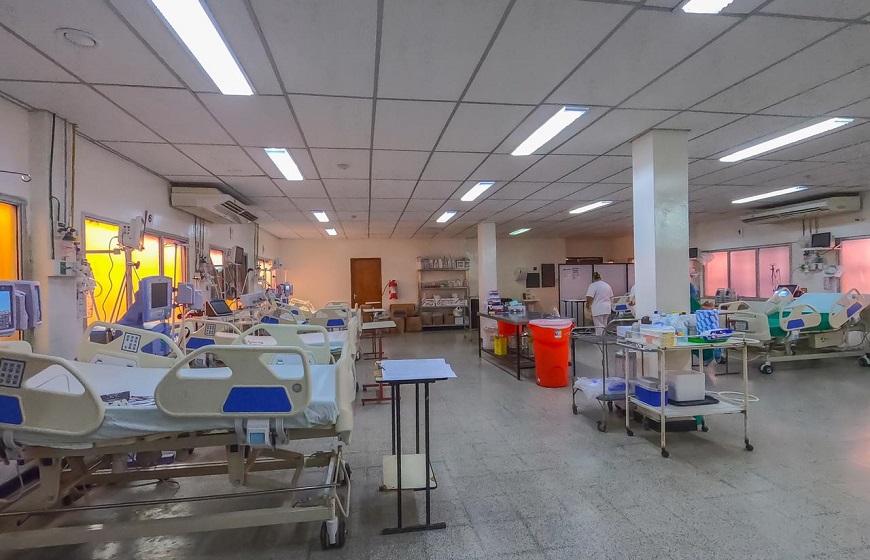 Hospital de Clínicas amplía capacidad de camas de terapias respiratorias  para adultos | .::Agencia IP::.